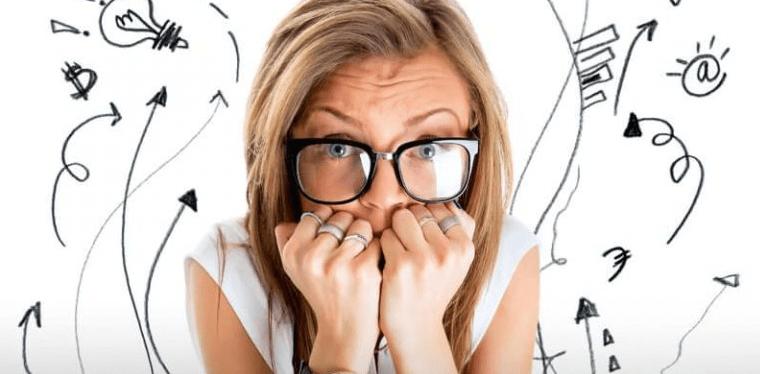 I sintomi che possono indicare un disturbo d'ansia